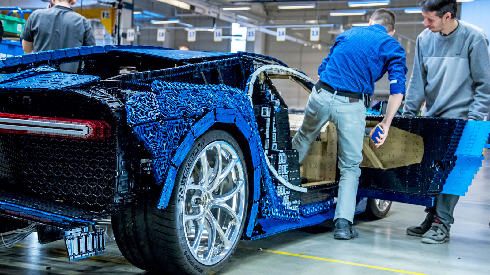 lego builds working bugatti chiron made entirely out of legos what 39 s trending