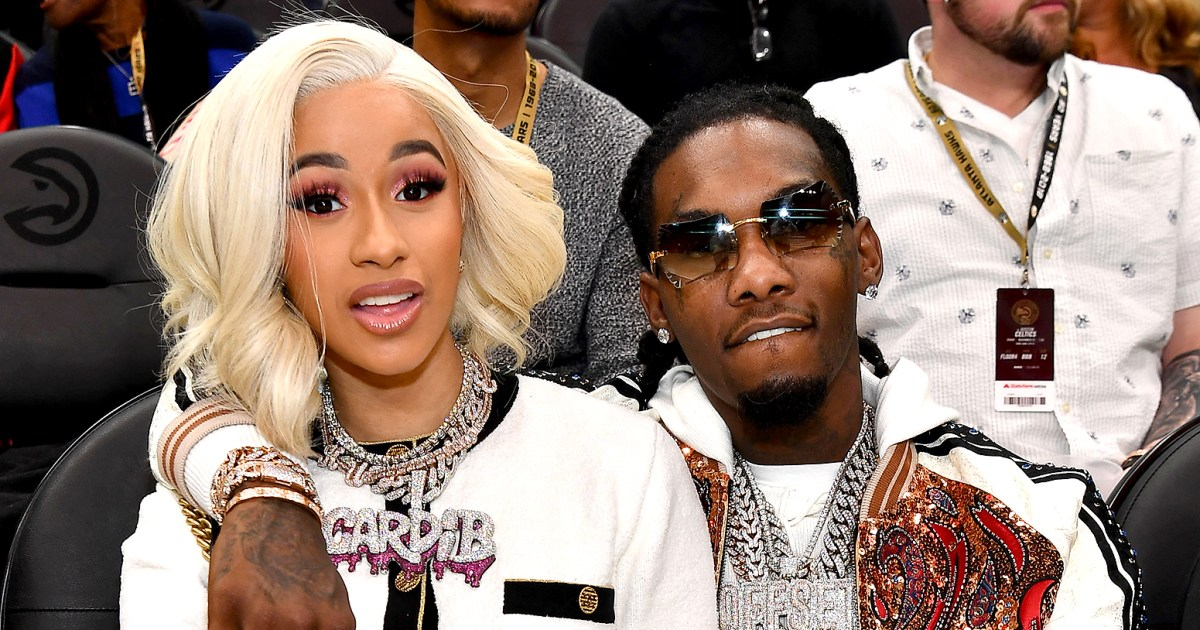 Cardi B Gets Offset S Name Tattooed On Her Body: Cardi B And Offset Call It Quits