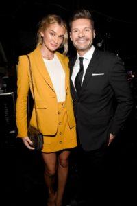Ryan Seacrest and Shayna Taylor