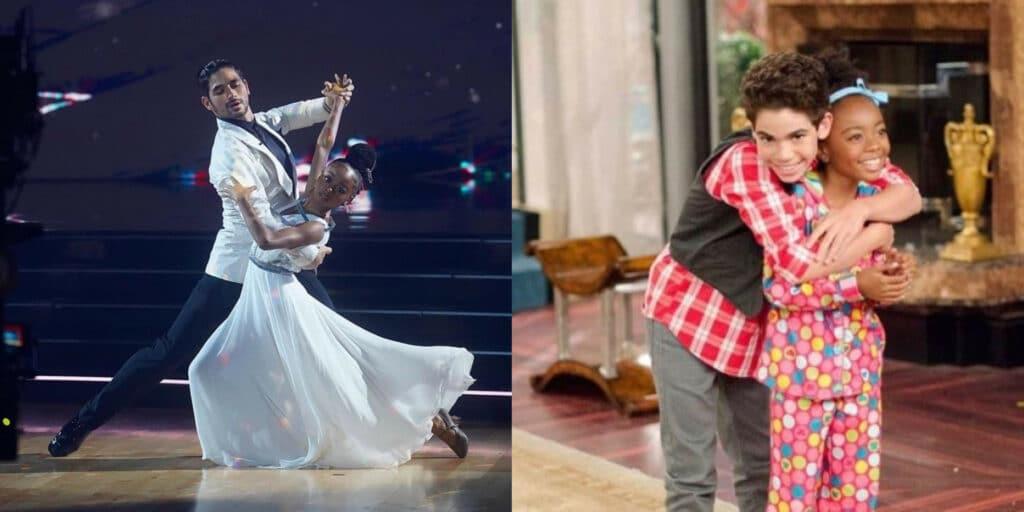 Skai Jackson dedicates Dancing with the Stars performance to Cameron