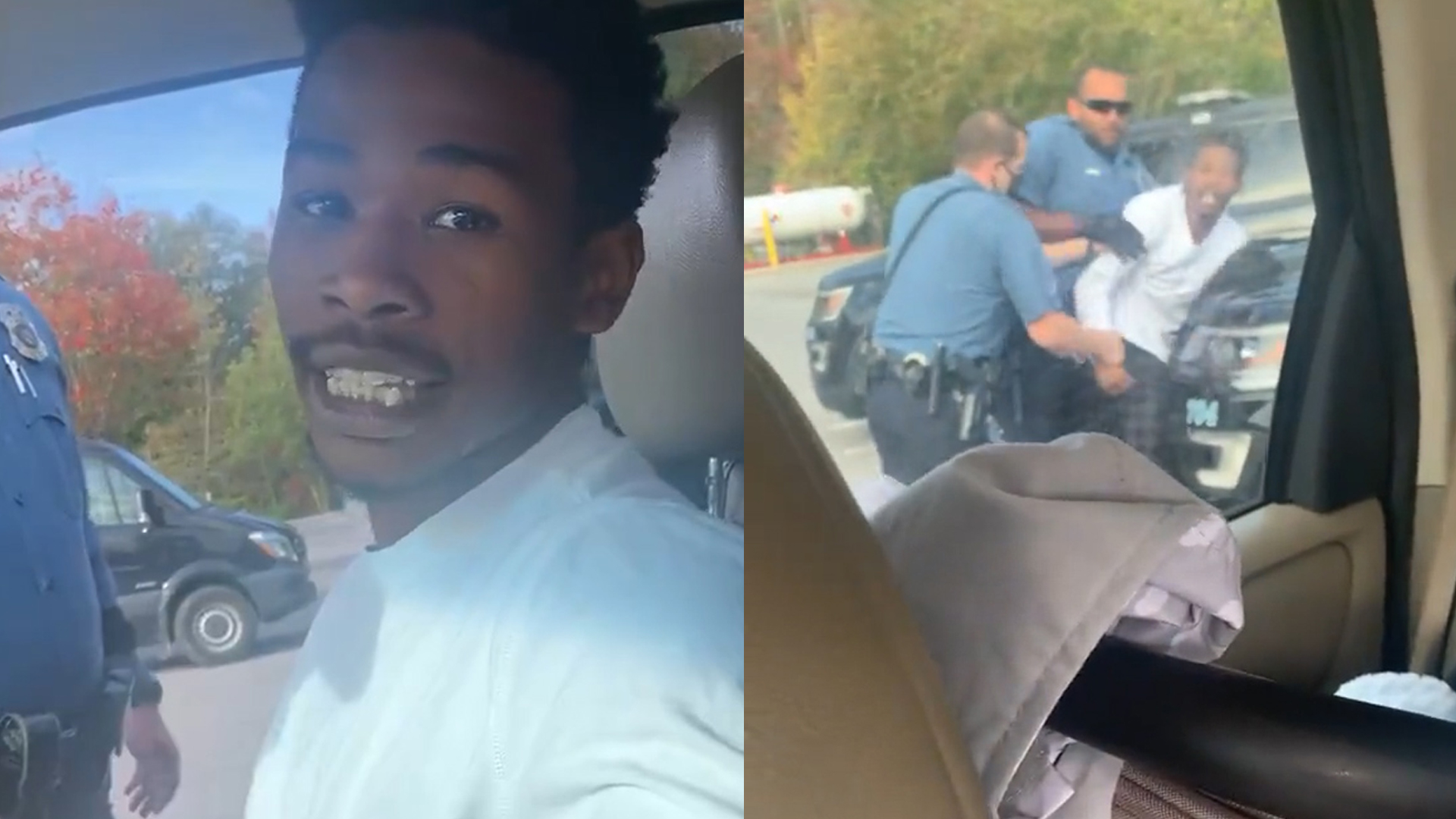Officers Pull Over White Woman For Speeding But Arrest Her Black Boyfriend