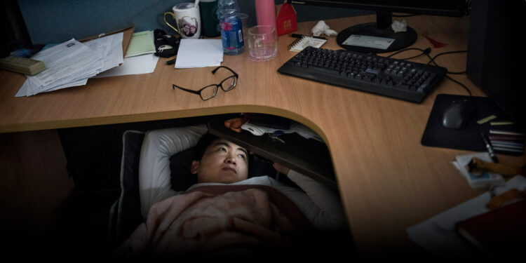 """Chinese Millennials """"Lie Flat"""" to Protest  Employee Exploitation and Never-Ending Rat Race"""
