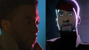 Black Panther meets Starlord!