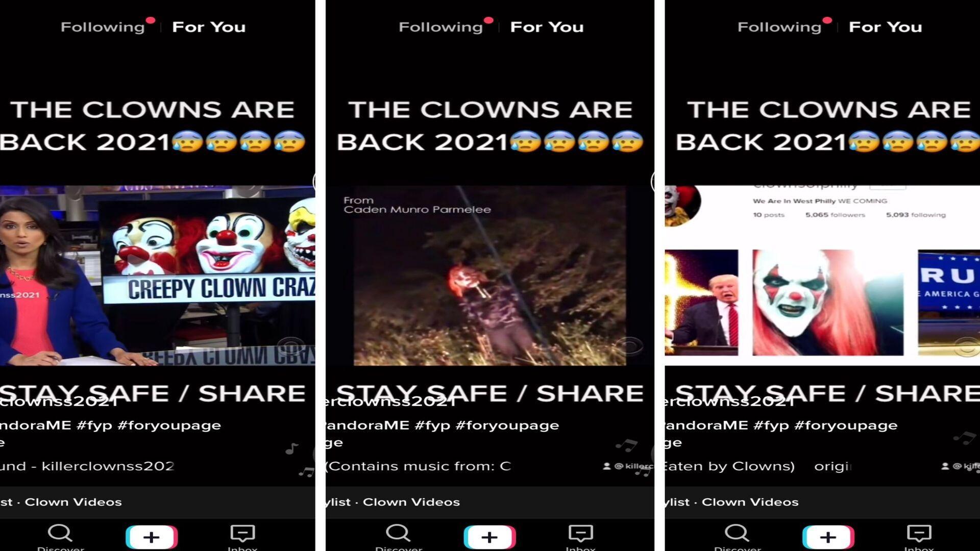 Creepy Killer Clown Craze Happening Again!?!